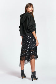 ZANARY LACE DETAIL SKIRT