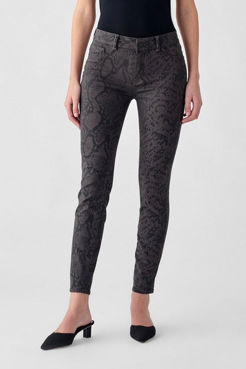 FLORENCE ANKLE MID RISE SKINNY 5