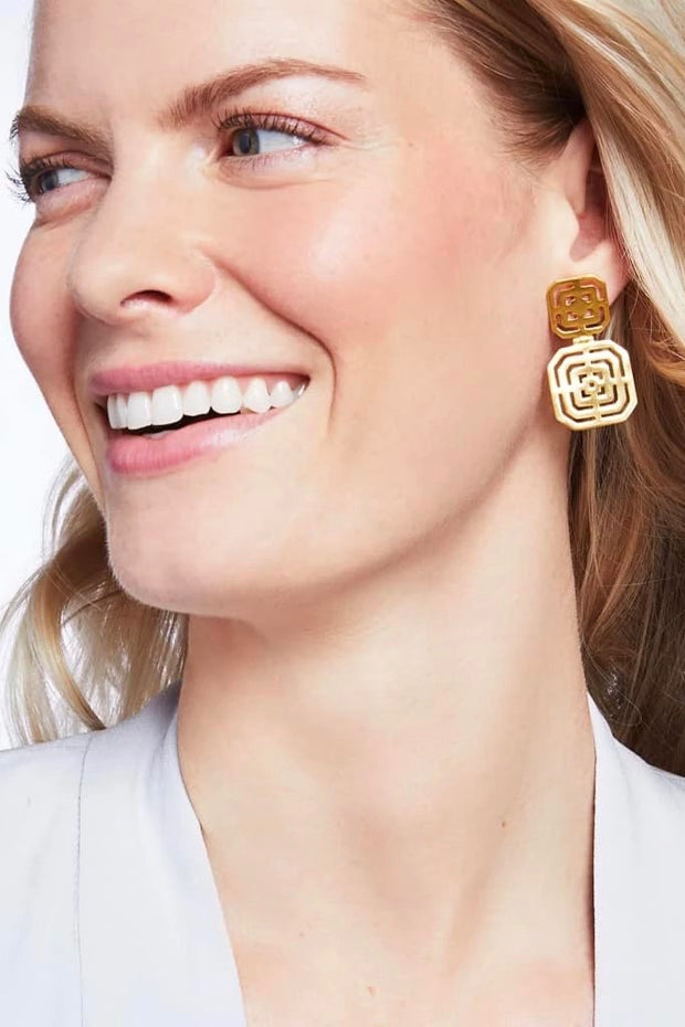 GENEVA STATEMENT EARRINGS