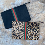 HYDE STRIPE CLUTCH