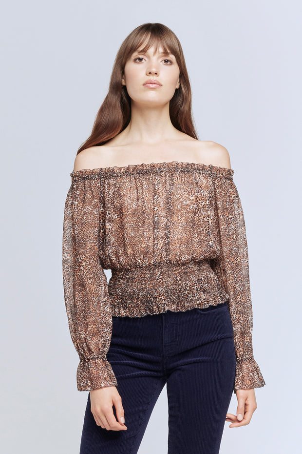 LILIA OFF SHOULDER TOP