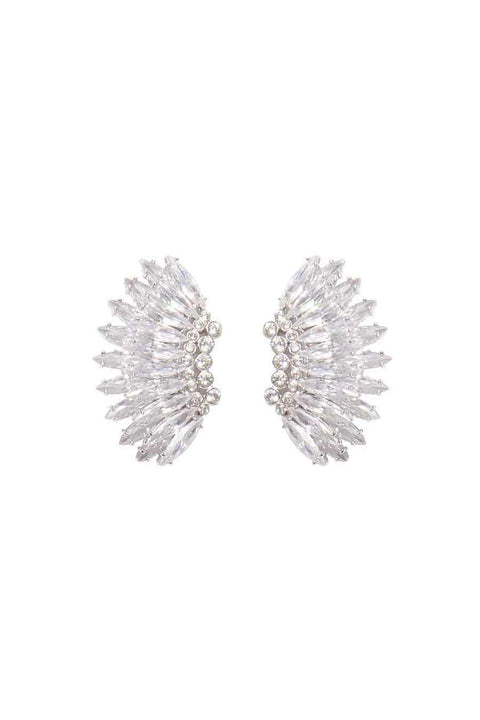 CRYSTAL MINI MADELINE EARRINGS