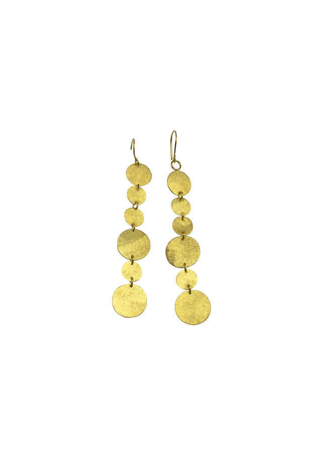 CIRCLES EARRING- GOLD