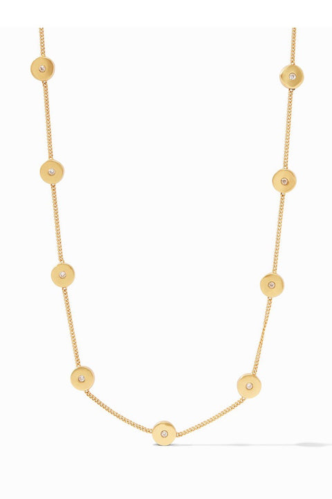 POPPY DELICATE STATION NECKLACE