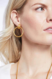 SAVANNAH DOORKNOCKER EARRINGS