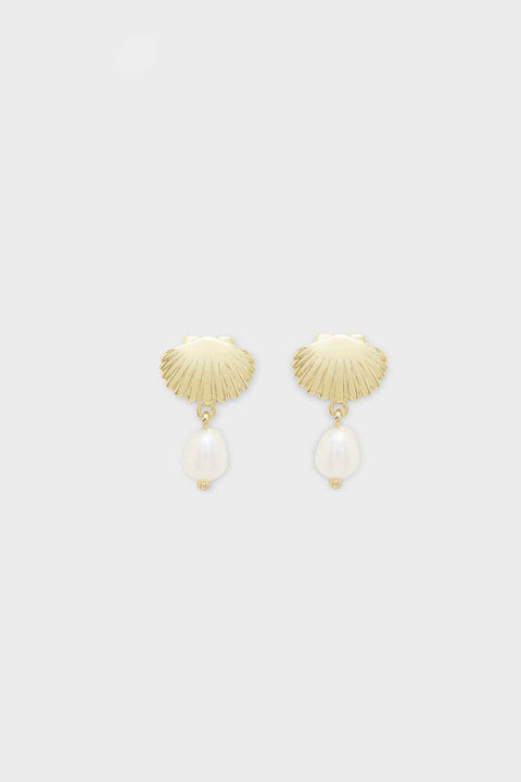 SEASHELL CHARM EARRINGS