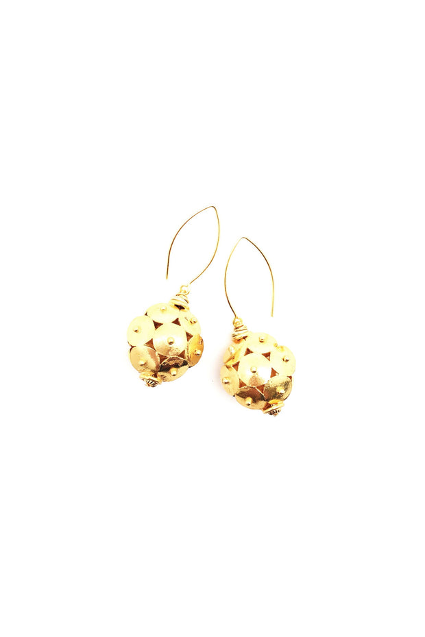MUMBAI EARRINGS- GOLD