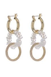ROCK CANDY TRIPLE HOOPS- GOLD