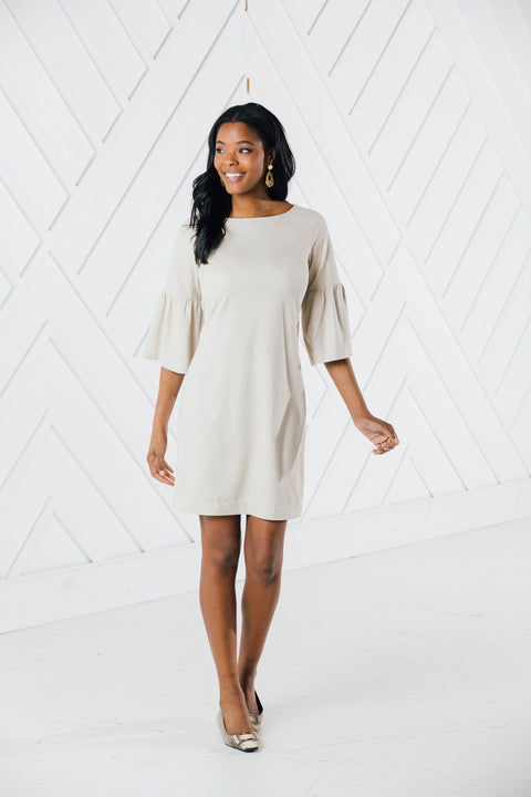BELL SLEEVE DRESS