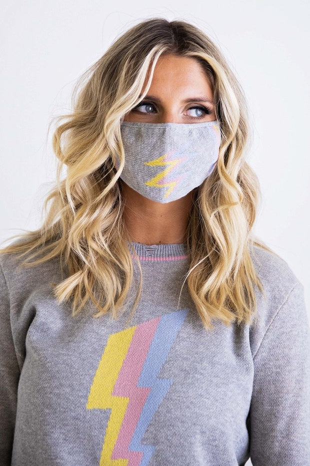 LIGHTNING SWEATER SET W/MASK