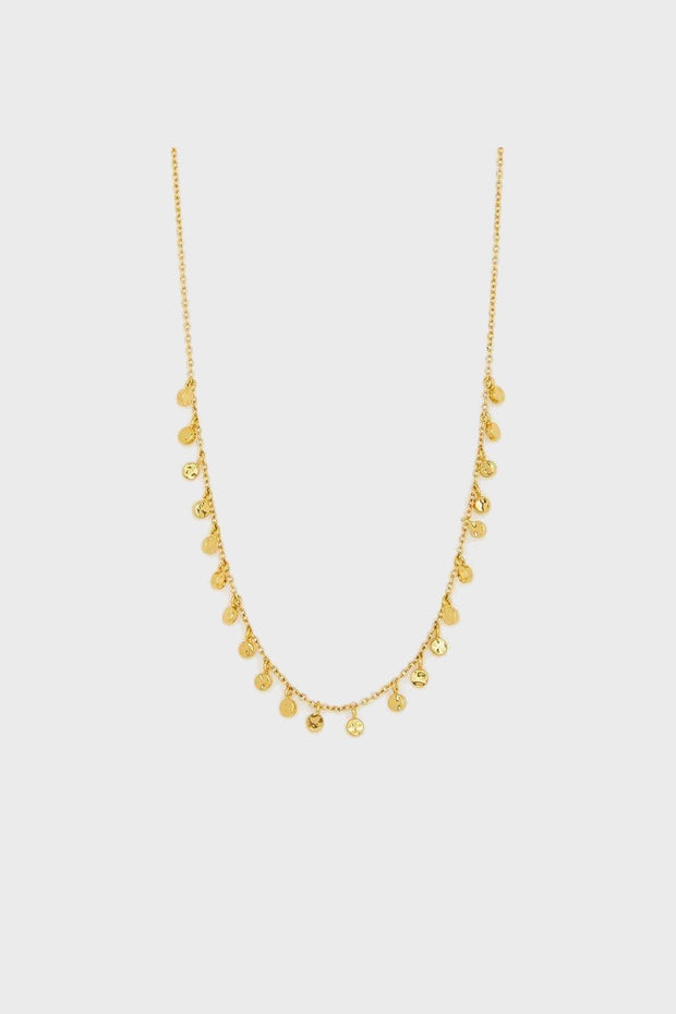 CHLOE MINI NECKLACE- GOLD