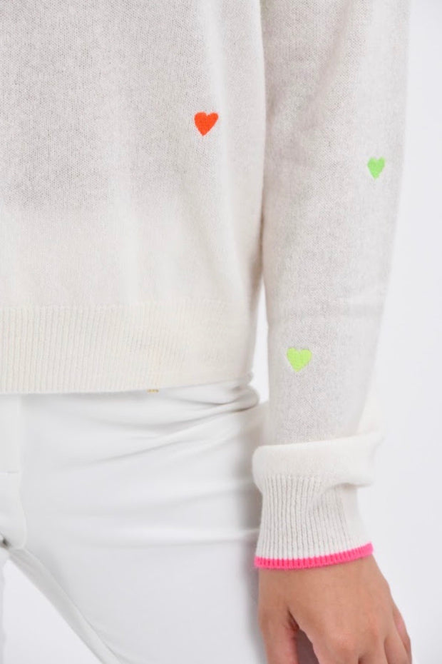 PIA HEARTS SWEATER