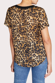 ELMA CHEETAH BURNOUT TEE