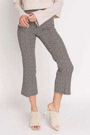 LEO HOUNDSTOOTH PANT