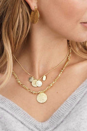 BANKS COIN NECKLACE