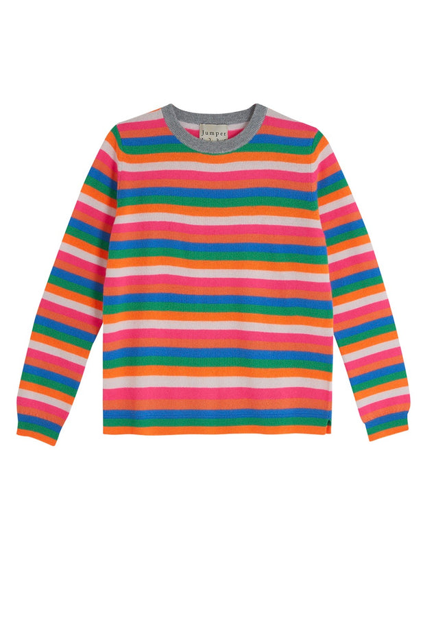 MINI MULTI STRIPE CREW