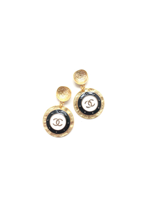 DESIGNER GOLD DROP EARRINGS