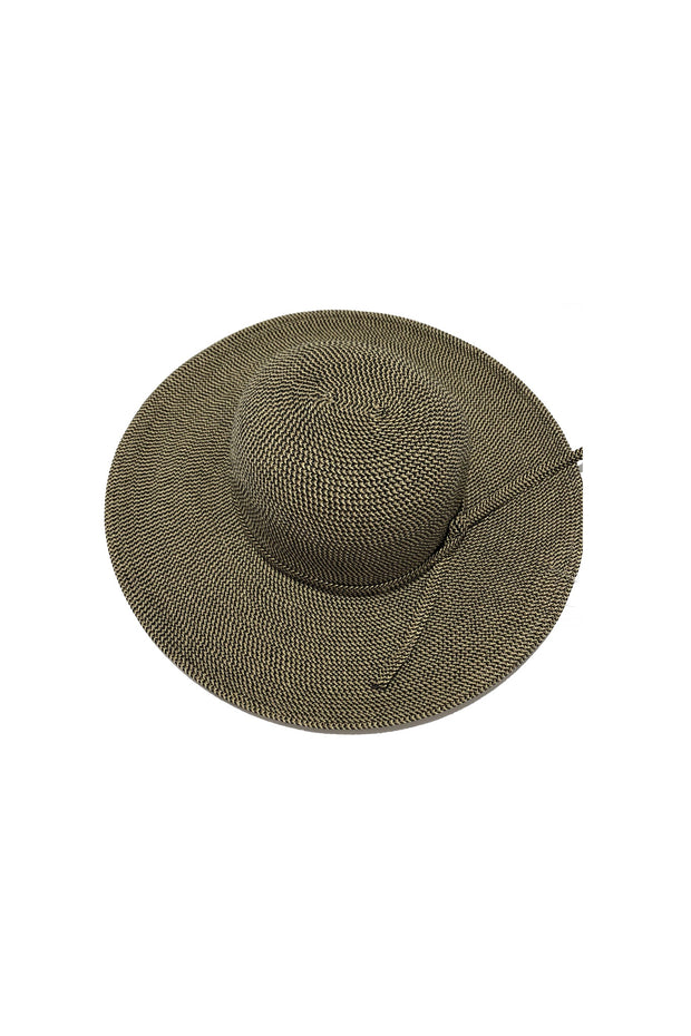 TWEED HAT WITH TIE