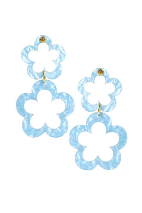 JANIE ACRYLIC EARRINGS