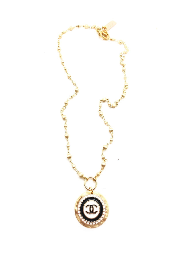BALL CHAIN DESIGNER NECKLACE
