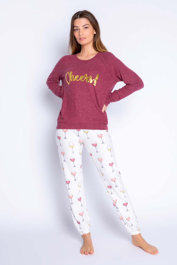 WINE TIME PJ SET