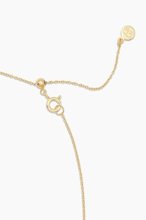 CANYON CHARM ADJ NECKLACE- GOLD