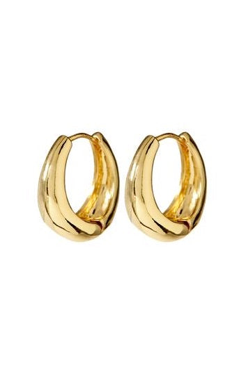MARBELLA HOOPS- GOLD