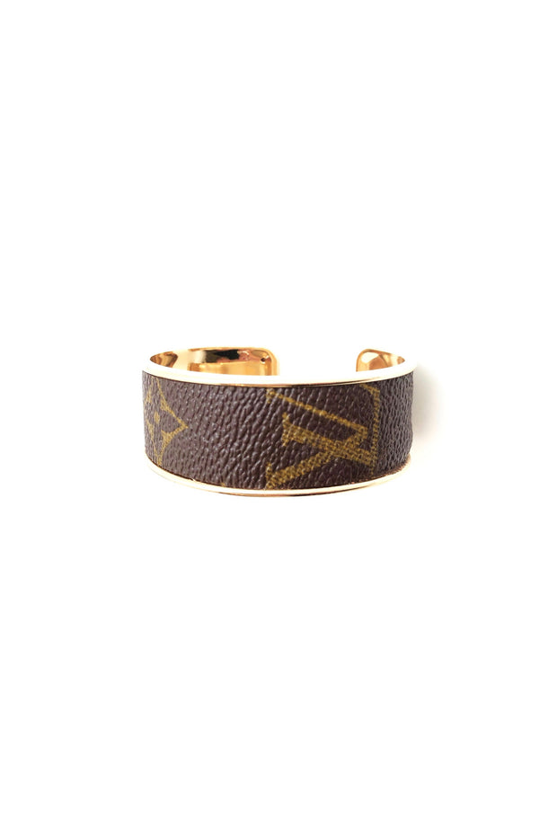 REPURPOSED LV CUFF- GOLD