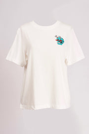 ZILAND TEE W/EMBROID