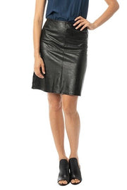 VEGAN LEATHER SKIRT