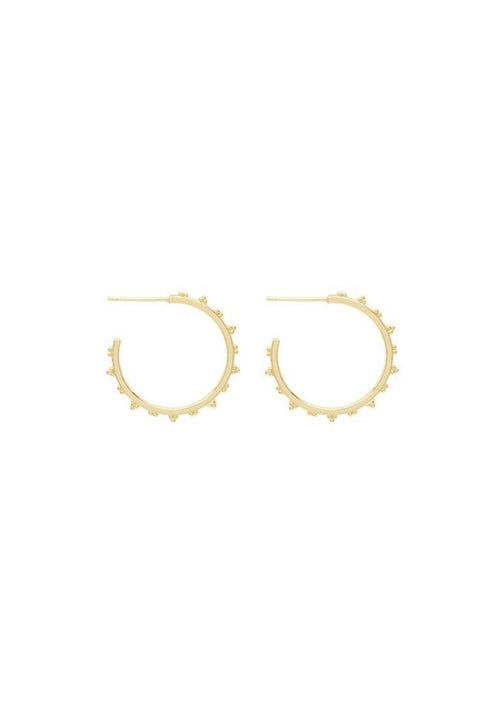 COSTA SMALL HOOPS- GOLD