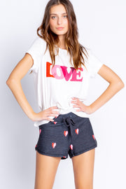WITH A KISS S/S LOVE TEE