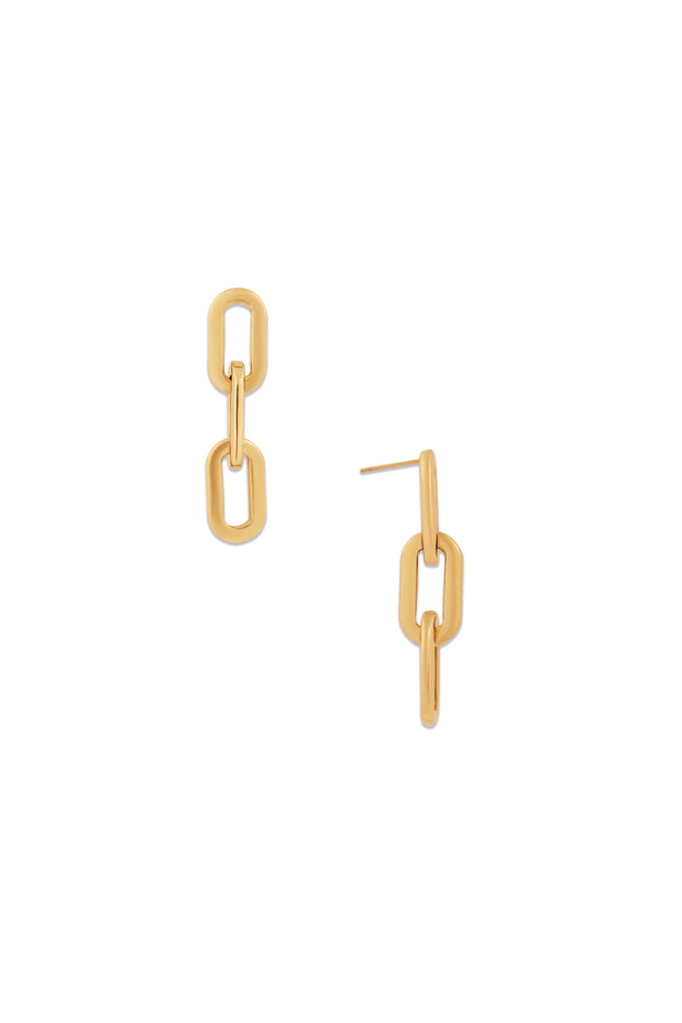 GAGE OVERSIZED LINK EARRING