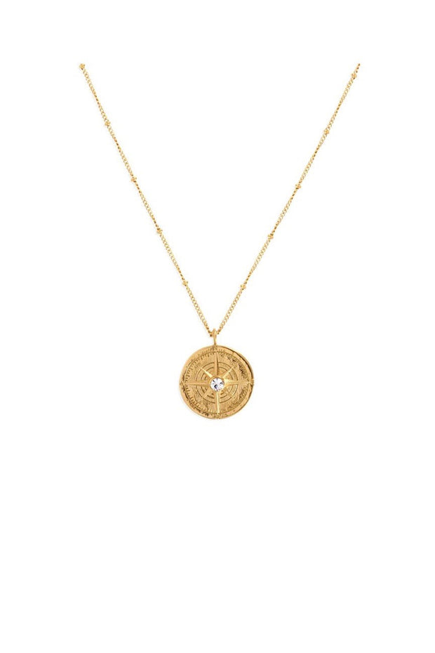 LEO COMPASS NECKLACE