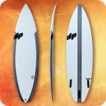DP Surfboards carbon strapped stringerless blank