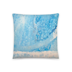 Throw Pillow- Storm Front Pouring