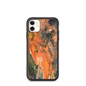 Biodegradable phone case- Pouring Halloween Night