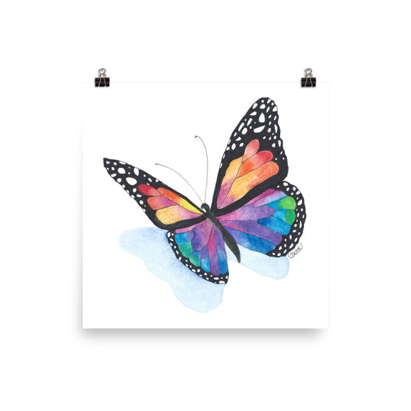 Butterfly Print- 5 sizes