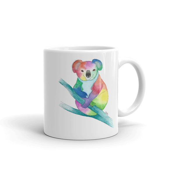 Kind Koala Bear Mug, printed on both sides- 2 sizes