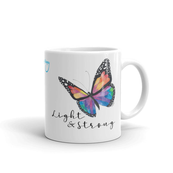 Light & Strong Butterfly Mug