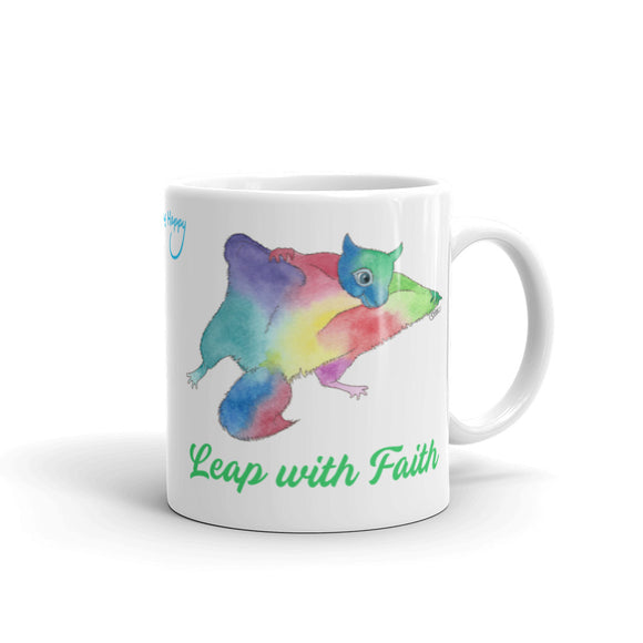 Leap with Faith Flying Squirrel MugMug
