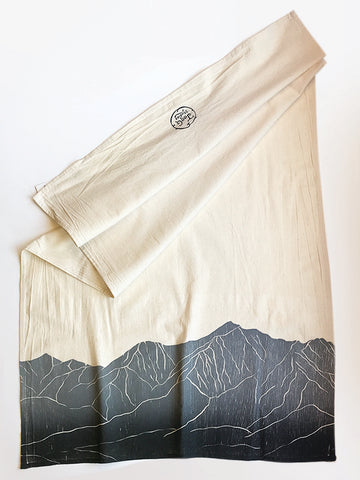 Collegiate Peaks, CO Dish Towel