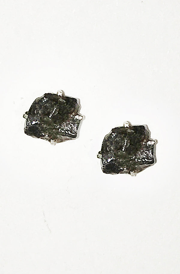 Meteorite Stud Earrings
