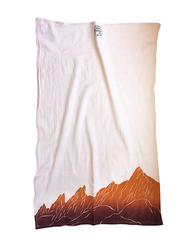 Flat Irons Boulder, CO Dish Towel