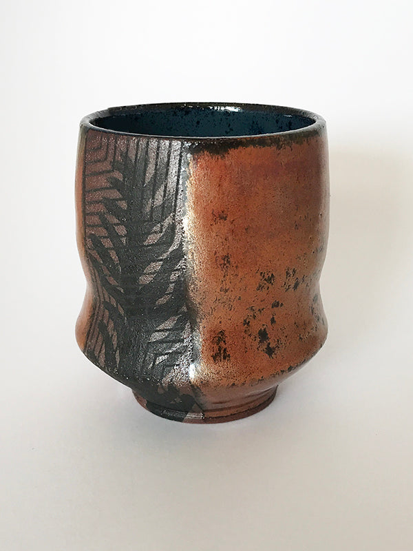 Copper Glazed Cup