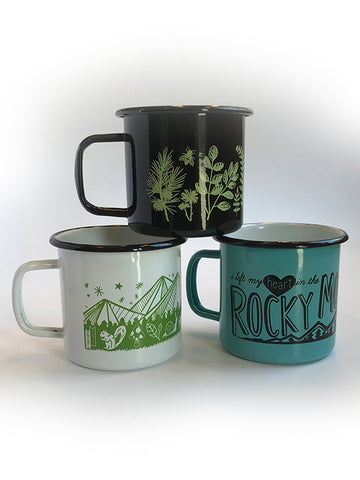 Enamel Camp Mugs