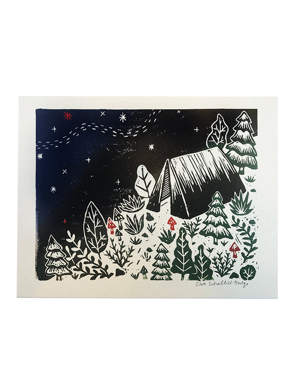 Archival Print - Camp