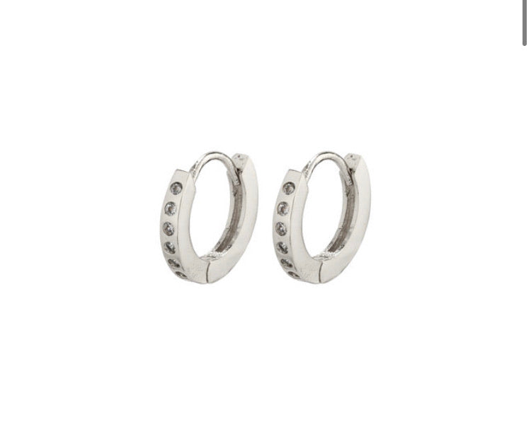 Gry Hoop Earrings