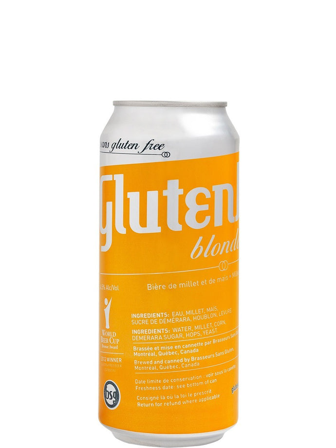 Glutenberg blonde 473 ml (consigne incluse)