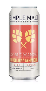 Simple malt  Double mango 473ml (consigne incluse 0.20$)